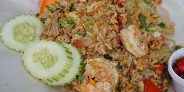 thailand essen kao pad
