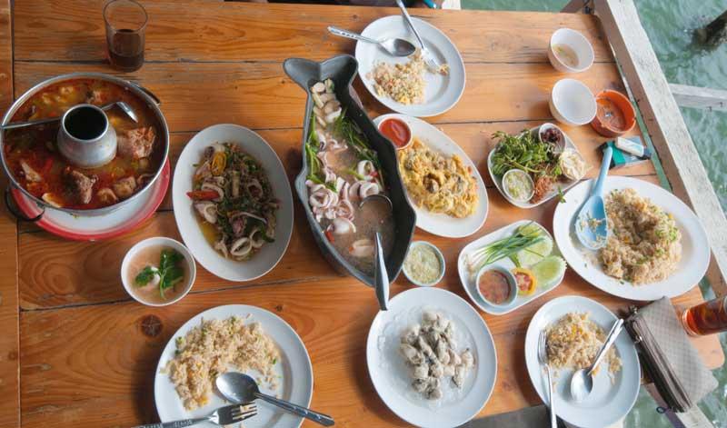 Thailand Speisen Seafood