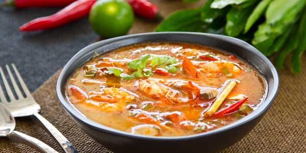 Thailand Speisen Tom Yam Gung