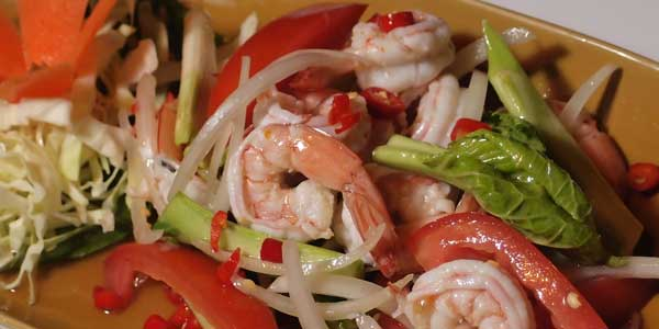 Thailand Speisen Yam Talay