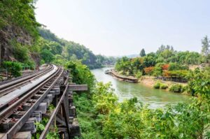 River Kwai Bridge Südthailand Rundreise