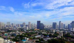 bangkok skyline, badeurlaub krabi