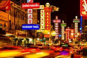 china town bangkok, badeurlaub krabi