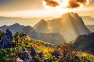 Chiang Rai Rundreise Nordthailand Chiang Dao Bergmassiv