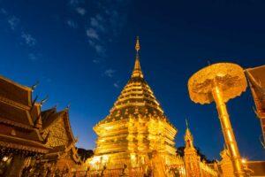 Der Wat Phra That in Lampang gehört zu den Sehenswürdigkeiten die SIe auf Ihrer Goldenes Dreieck Rundreise sehen werden.