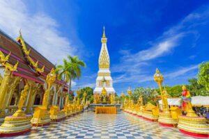 große Isaan Rundreise Wat Phra That Phanom