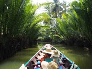 Bootsfahrt Fluss Tapie - Krabi Rundreise