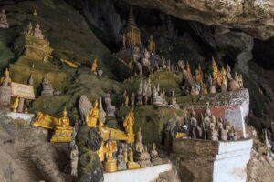 Pak Ou Höhlen - Höhlen der Tausend Buddhas - Nordthailand Laos Rundreise