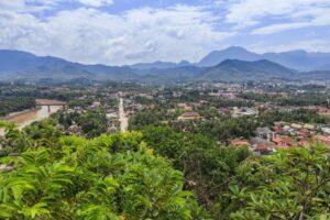Luang Prabang Aussichtspunkt - Nordthailand Laos Rundreise