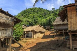Hmong Village Luang Prabang Laos - Nordthailand Laos Rundreise