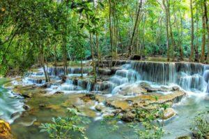 Huay Kamin Wasserfall Kanchanaburi Rundreise