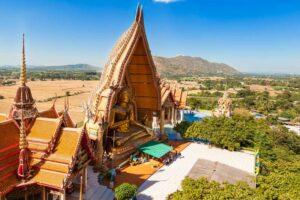 Wat Tham Sua und Wat Tham Khao Noi - Kanchanaburi Rundreise