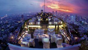 thailand anfänger preiswert, Bangkok, Vertigo Skybar