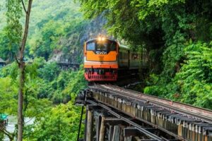 thailand anfänger preiswert, Bangkok, Zugfahrt Chiang Mai