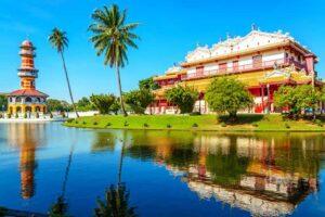 Bang Pa Inn Sommerpalast Ayutthaya Westthailand Rundreise