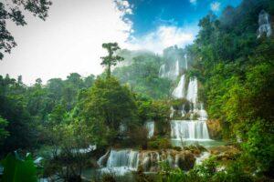 Thi Lo Su Wasserfall Westthailand Rundreise