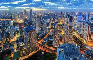 Skyline Bangkok Zentralthailand Rundreise