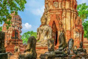 Königsstadt Ayutthaya Zentralthailand Rundreise