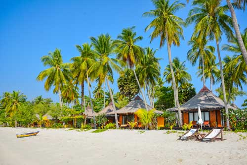 Koh Mook Sivalai Beach Resort Zentralthailand Rundreise