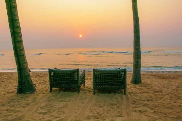 Den heutigen Abend können SIe am Strand von Hua Hin ausklingen lassen.