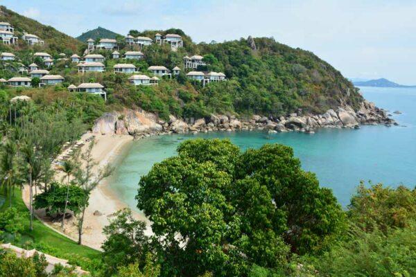Das Areal des Banyan Tree Resort Koh Samui,das Paradies auf Erden.