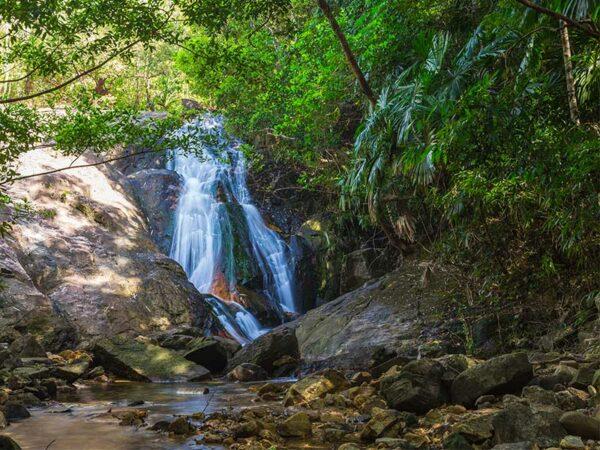 Auch ein Ausflug zum Ngao Wasserfall bei Ranong steht heute auf dem Programm.