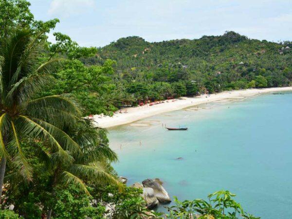 Die Bucht Thong Nai Pan gehört zu den schönsten der Insel Koh Phangan