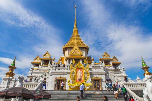 Wat Trimitr, Bangkok, thailand Rundreisen