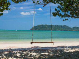 Lassen Sie am Strand von Koh Phayam einfach die Seele baumeln.