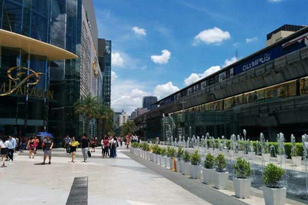 Siam Paragon, BTS Station Siam, Sukhumvit Road, Bangkok