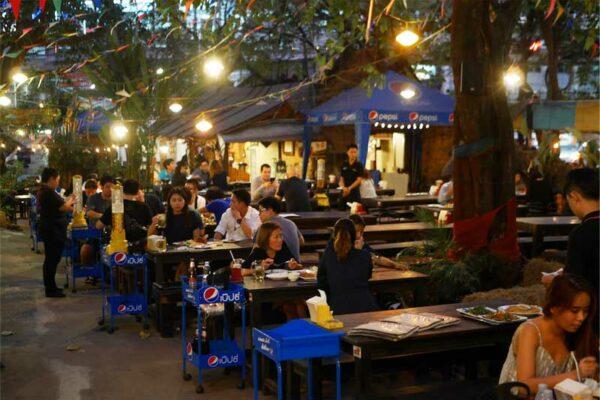 Banrie Bai Ka Prao, Sukhumvit Road, Bangkok