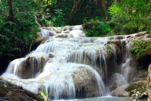 Erawan Wasserfall im Erawan Nationalpark