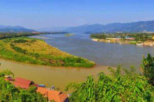 Goldene Dreieck von Thailand