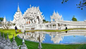 Weiße Tempel Chiang Rai, Wat Rong Khun, Chiang Rai, Thailand
