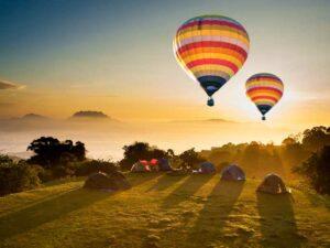 Heißluftballonfahrt in Chiang Mai