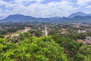 Ausblick vom Luang Prabang Viewpoint