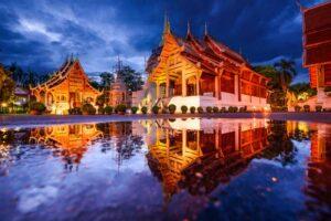 Wat Phra Singh Tempel in Chiang Mai