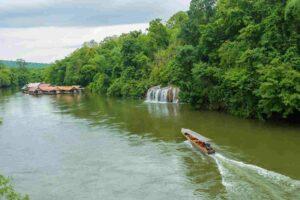 Saiyok Wasserfall Kanchanaburi, Thailand, Flitterwochen Thailand