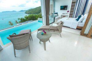 Bandara Villas Phuket, Panoramic Pool Villa, Flitterwochen Thailand