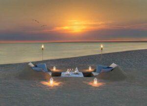 Candle Light Dinner am Strand von Phuket