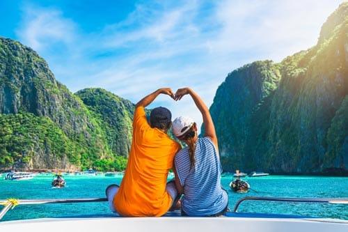 Flitterwochen Reise Thailand