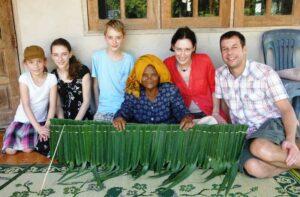 homestay thailand, kulturaustausch mit der Gastfamilie