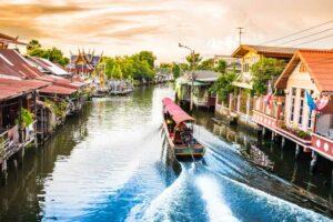 Klongs von Bangkok, Familienurlaub Thailand