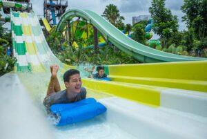 Scenical Splash Wasserpark, Khao Yai, Familienurlaub Thailand