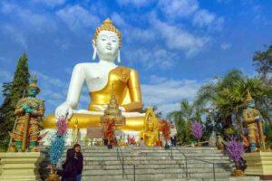 Wat-Pratat, Doi-Kam, Chiang Mai, Rundreise