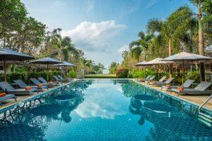 Pool des Bandara On The Sea, Rayong, Thailand, Rundreise