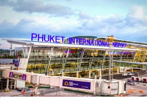 Der Flughafen von Phuket, Phuket International Airport