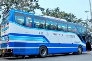 Der Express Bus, der 3x wöchentlich von Phuket nach Bangkok gefahren ist.