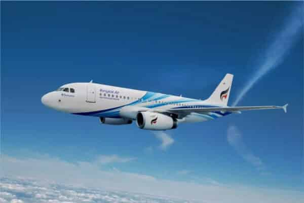 Flugzeug der Bangkok Airways Thailands Boutique Airline