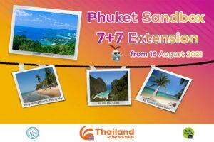 Phuket Sandbox Inselhopping Verlaengerung genehmigt